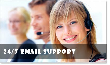 24/7 Email Support