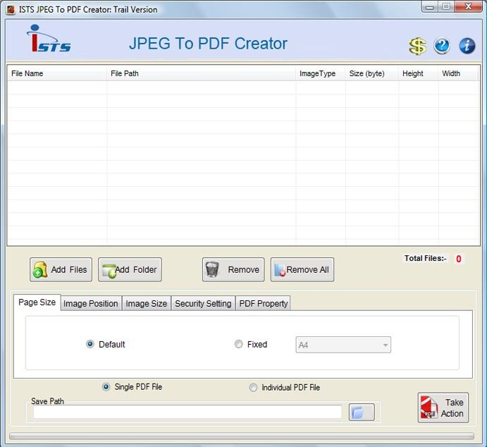Click to view Convert JPG to PDF documents 2.8.0.4 screenshot