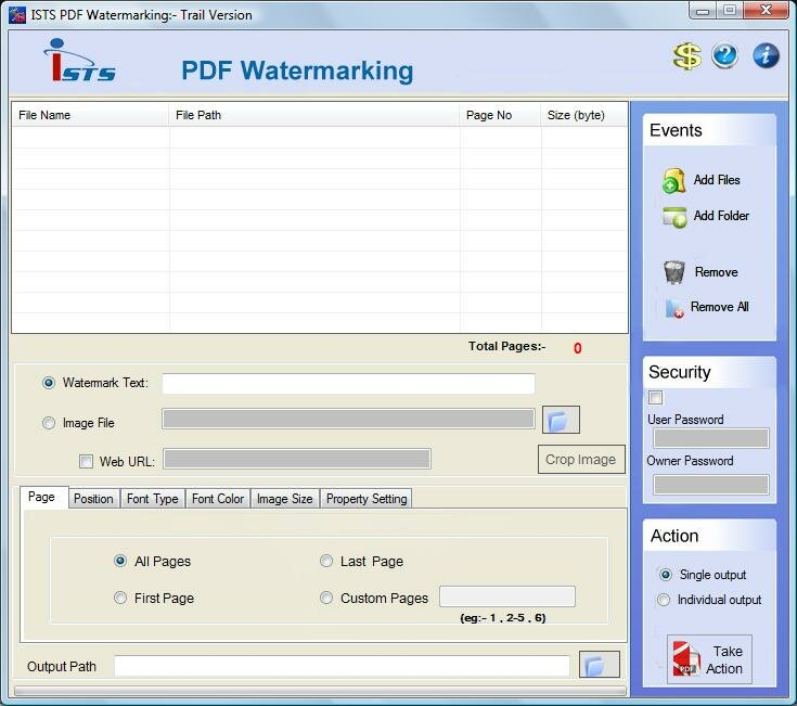 PDF Watermark Software 2.8.0.4